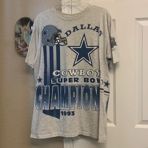 Dallas Cowboys 1993 Super Bowl Champs